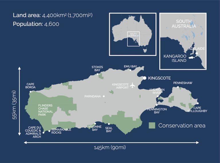 KI Map - Walk Kangaroo Island